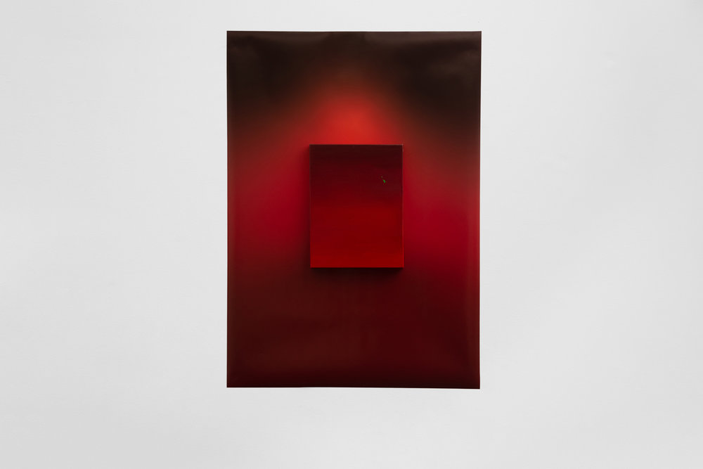 Daisy Lewis-Toakley,  Standing in Red , BLINDSIDE 2019. Photo Theresa Harrison. Courtesy the artist.