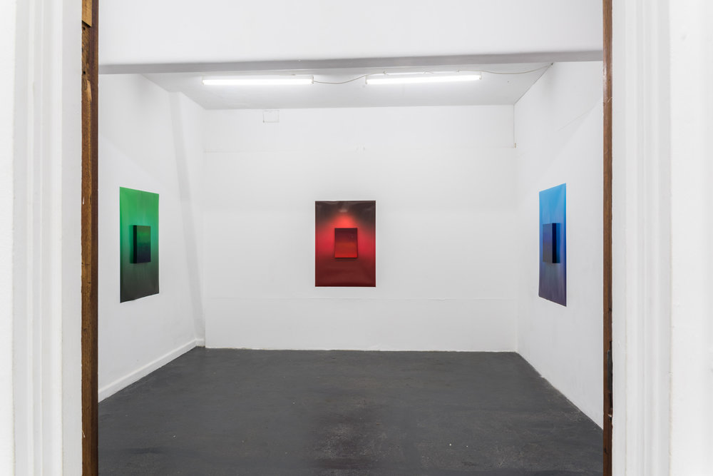 Daisy Lewis-Toakley,  Standing in Red , BLINDSIDE 2019. Photo Roberta Govoni. Courtesy the artist.
