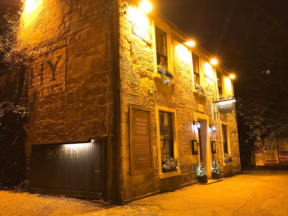The Bothy for Scottish fare