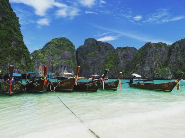 Maya Bay, Ko Phi-Phi Leh, Thailand