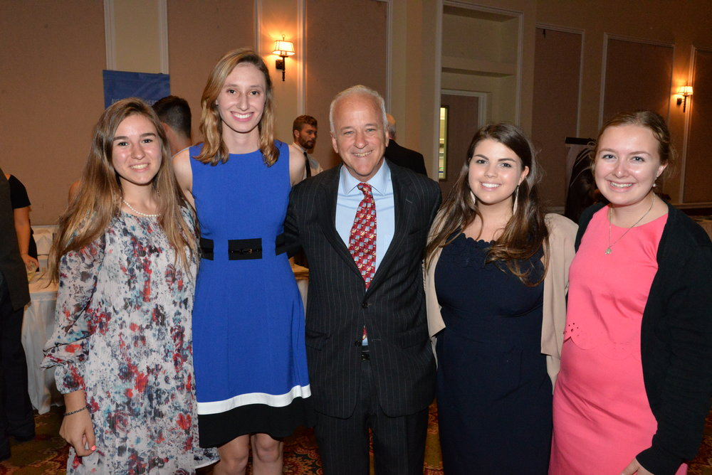 Ave for Life leadership board with President Towey.