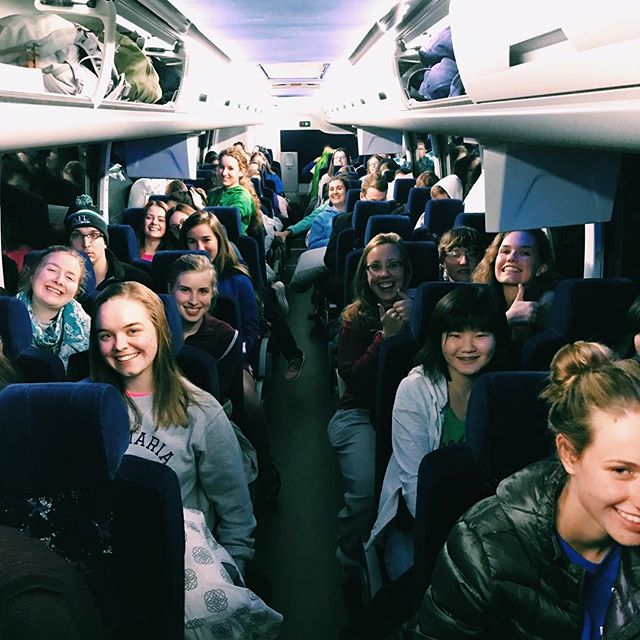 Last night our bus headed out for D.C! Cant wait to see everyone at the march. Praying for safe travels for all Ave students and everyone traveling. • • • • • • • • • #mfl #marchforlife #studentsforlife #aveforlife #afl #amuafl