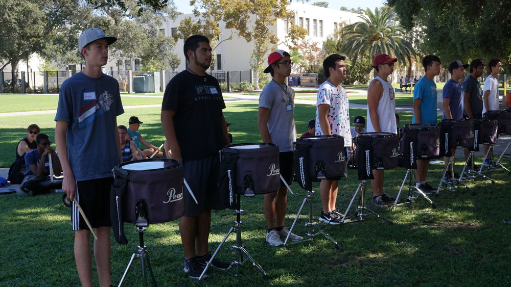 Snare Auditions  PC: Robert Batorski
