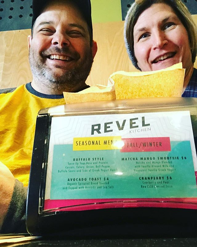 Found this cool, healthy place to grab a bite in St Louis! Revel Kitchen... good coffee too ☕️ @eatrevel