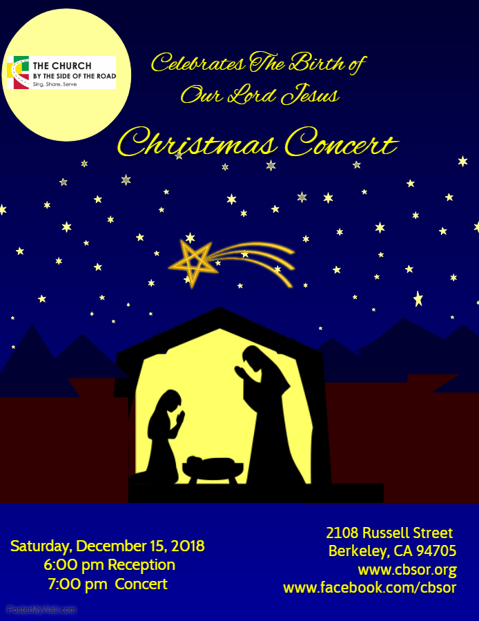 Christian Church Christmas Flyer