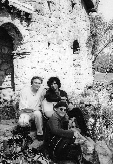 -Mike with Lowen & Navarro (photo by Pamela Springsteen)
