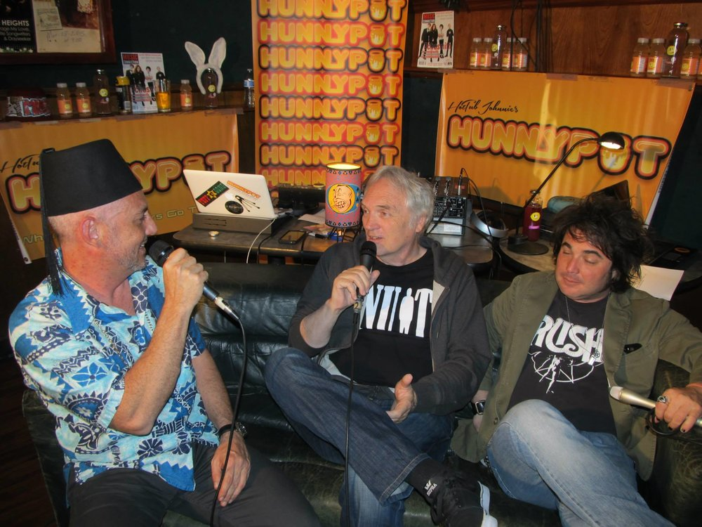 Mike on The Hunnypot with John Anderson and Jeff Grey