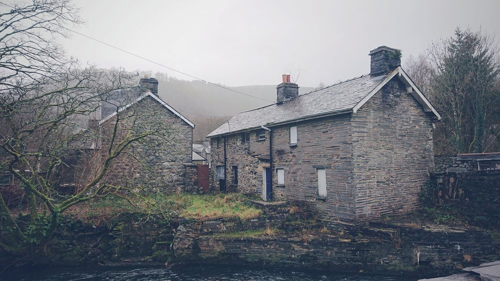 Corris, 2019  Taken on my first day in Corris (which was New Year's day) as I too a walked around the town gathering more thoughts and inspiration.
