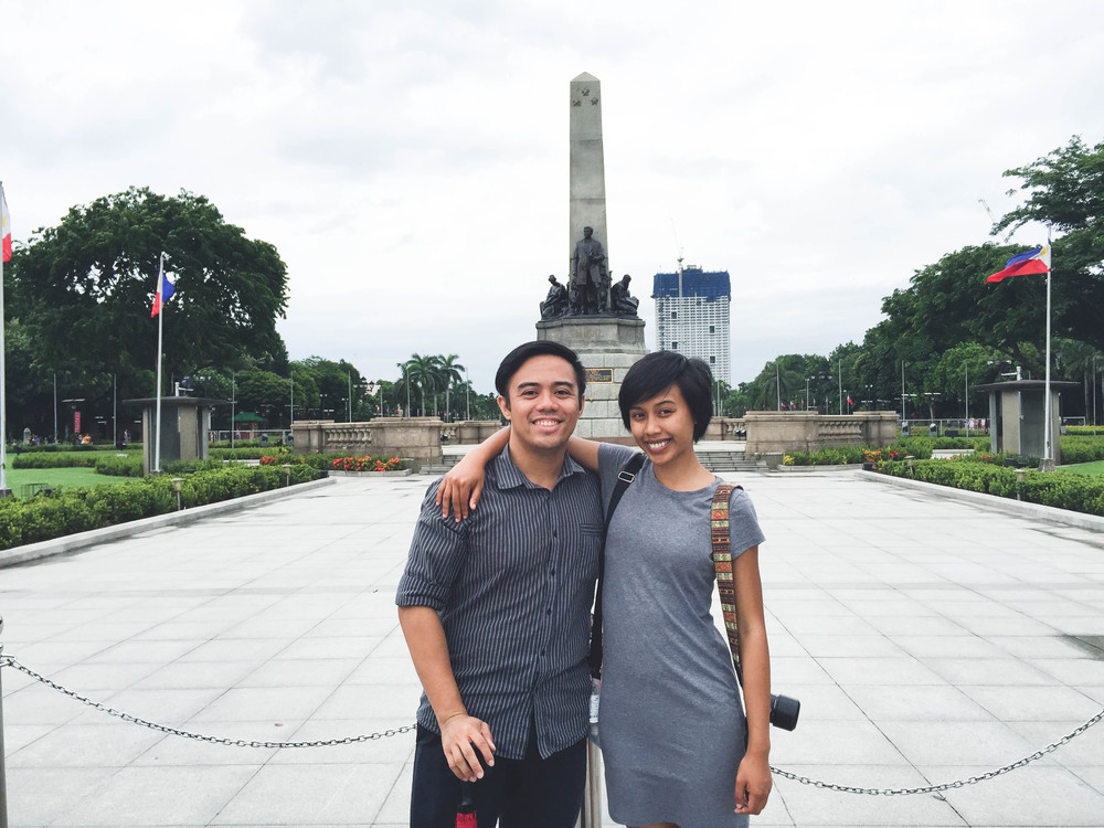 Last but certainly not least, we wrapped up our Manila meet-up marathon with this koo kat,  Tim , who used to run the show for the Ateneo exchange program – aka how we met! He showed us around, what is basically his backyard, Rizal Park which is near Intramuros and National Museum. Because his office was conveniently near this area, he let us leave our big backpacks there while we explored. Tim also used to be a tour guide, which was more than we could ask for, and he gave us a good run down of that area, which is what we appreciated the most. In good-hearted, kapwa fashion he also made sure we got to our Ohayami terminal safely and stayed with us until close to our boarding time at 10pm.