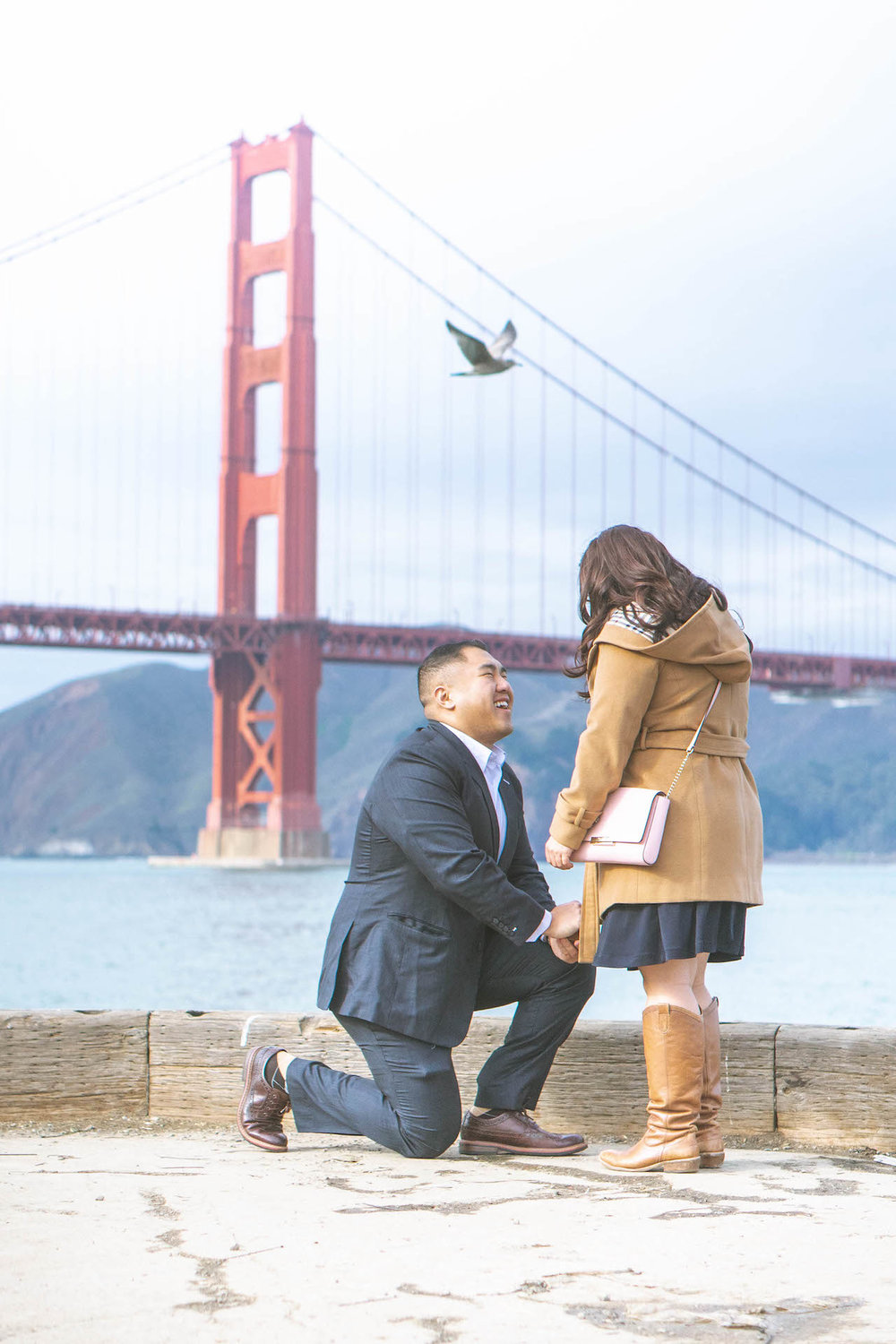 jonathan x katelin 2018 engagement photoshoot san francisco chrissy field