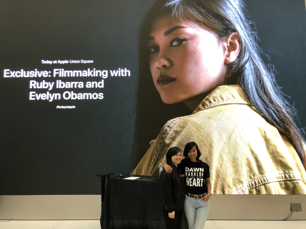 Today at Apple Screening @ Apple Union Square, San Francisco