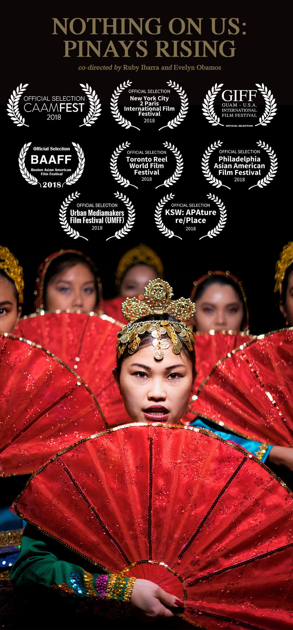 2018 nothing on us pinays rising poster ruby ibarra evelyn obamos