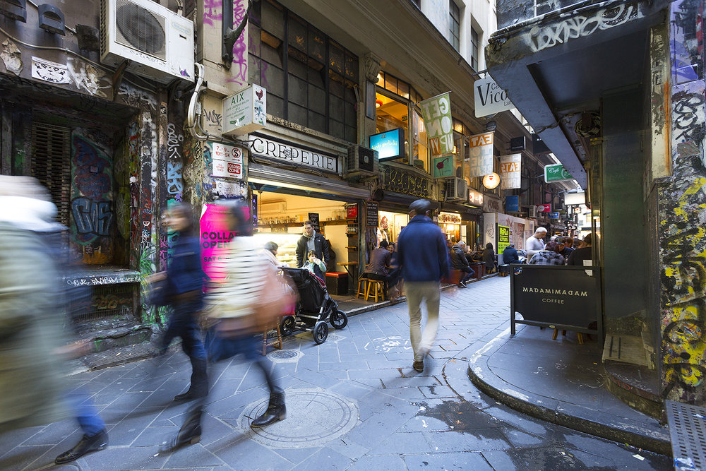 Melbourne's Centre Place