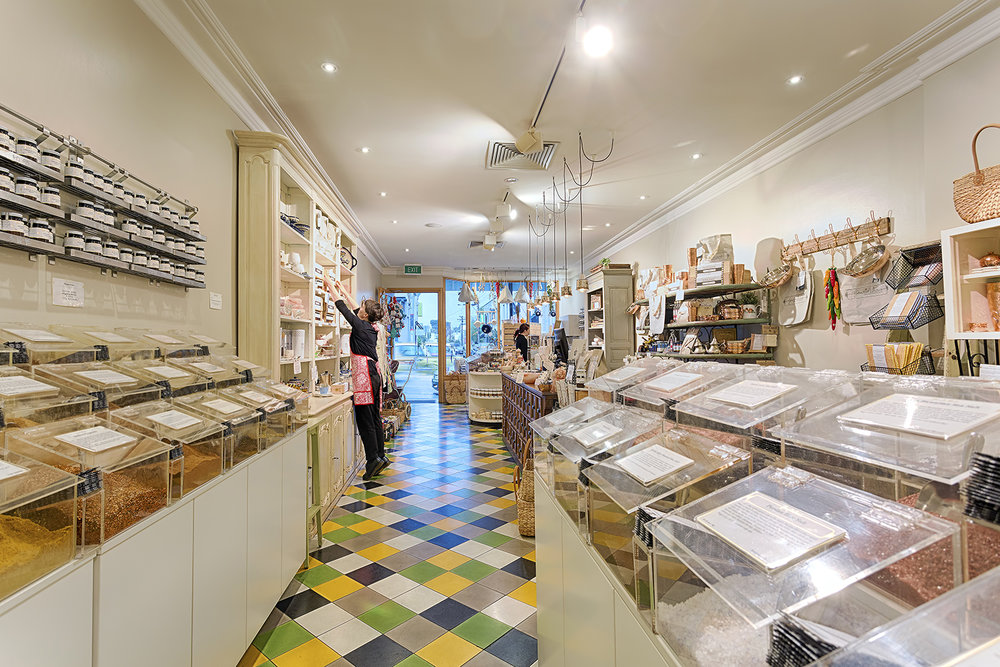 Gewurzhaus, herb and spice merchants at Hawksburn Village, Melbourne