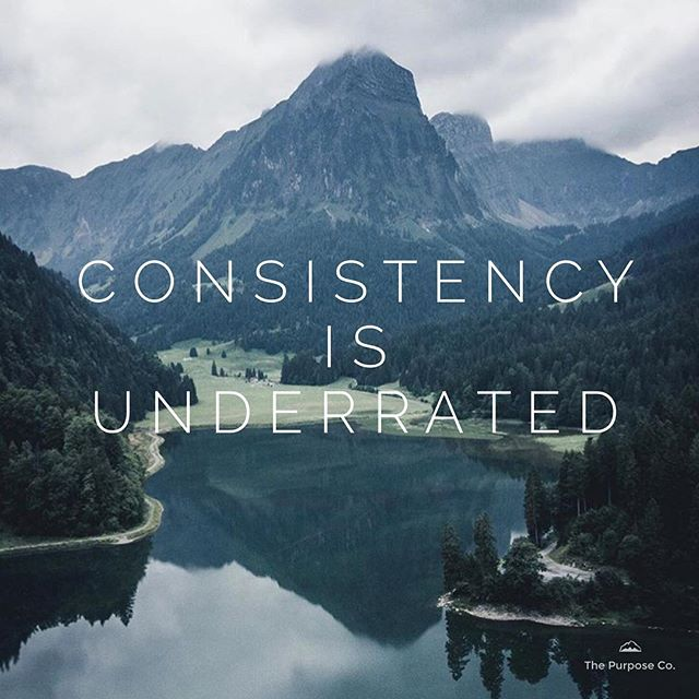 Consistency can be a rare quality to find in today's social climate. The evolution of just about everything is increasing at a rapid rate, and so to find something or someone that is consistent, stable, and loyal is a luxury. Yet this is a quality that is so vital to the success of our lives, businesses, and relationships. Consistency is a virtue worth pursuing if you find it lacking. It is the kind of super-glue that provides longevity to all the things that are most important to you. 📸 @yaenepaul . . . . #thepurposeco #socialchange #lifepurpose #sydney #coaching #liveauthentic #createtheextraordinary #vsco #startwithwhy #socialgood #creative #dreambig #yourturn #makeadifference #dosomething #worldchanger #growthmindset #legacy #lifegoals #daringgreatly #wordsofwisdom #speaklife #selfawareness #lawofattraction #manifest #abundance #guidance #positivepsychology #identity #positivepsychology
