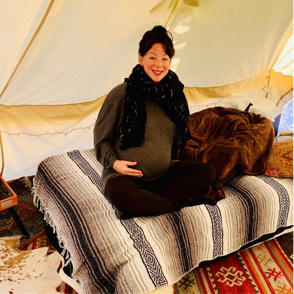 BIRTH PREP IN THE TENT