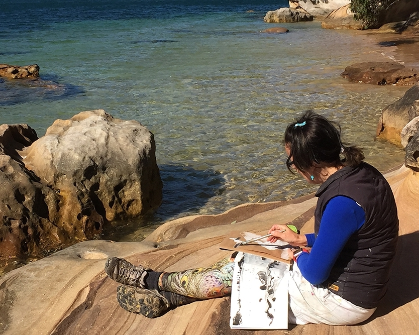 THE ART OF TRAVEL WITH DEBBIE MACKINNON (APRIL 30 - MAY 2, 2019)     Currawong Beach, NSW, Australia   Learn to capture the moment and create travel sketchbooks with artist Debbie Mackinnon in idyllic Currawong Beach on the shores of Pittwater.    Read More