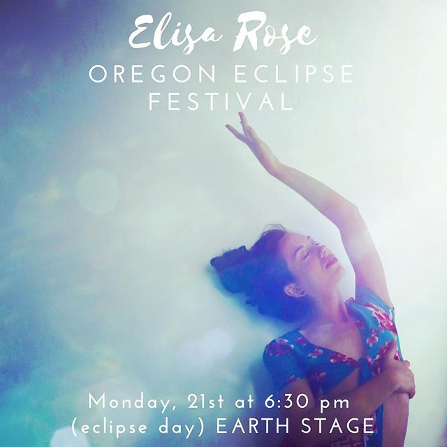 Festival Friends!!! ✨🌟✨ Glide on over to the Earth stage before sunset on the day of the eclipse and I will be there giving you my all!!! 💖🌸⚡️☀️🔮🌔🐲🕊💖 #oregoneclipsefestival #oregoneclipse2017 #onceinalifetime #magic #hearttoheart #musicmedicine 📸 @nitsacitrine