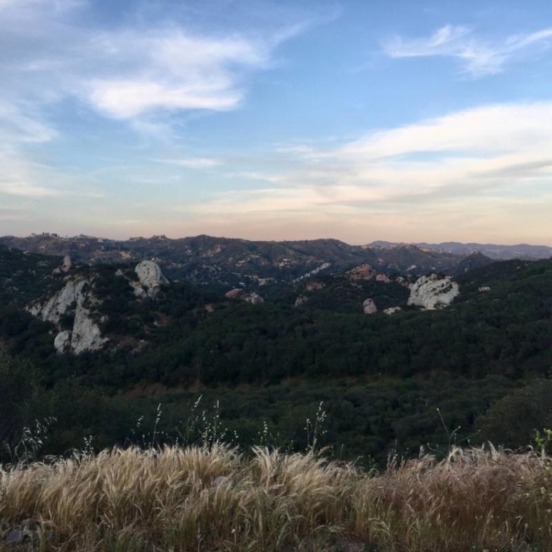 Red Rocks Topanga Canyon by Alison Beckner