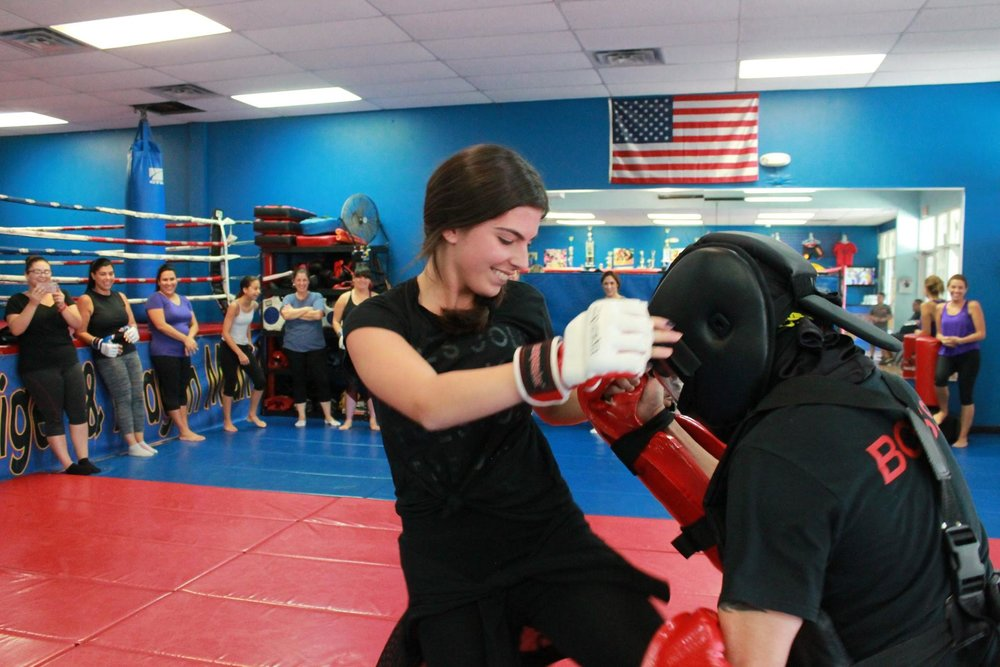 Women Self-Defense - Empowerment & Fitness Motivation
