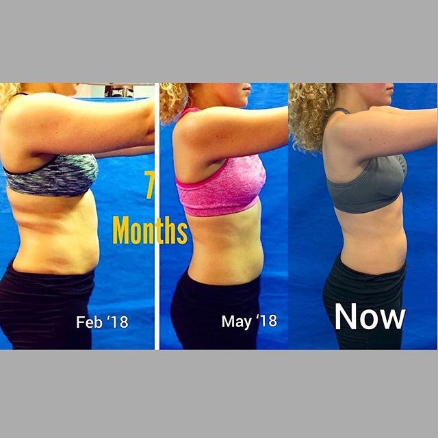 So proud of my student! She is eating better and coming to class consistently. Love your transformation!!! Can't wait to see home results 3 months from now #workoutmotivation #transformationtuesday #transformation #weightlosstransformation #weightlossjourney #abs