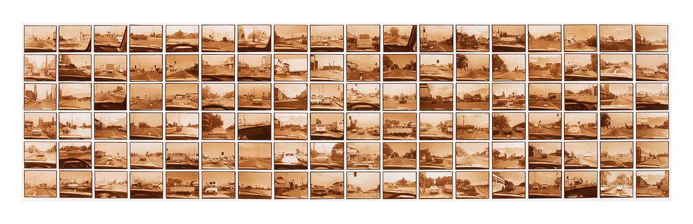 108 Intersections  1978 108 gelatin silver prints (POP) 36.5cm x 139.5cm