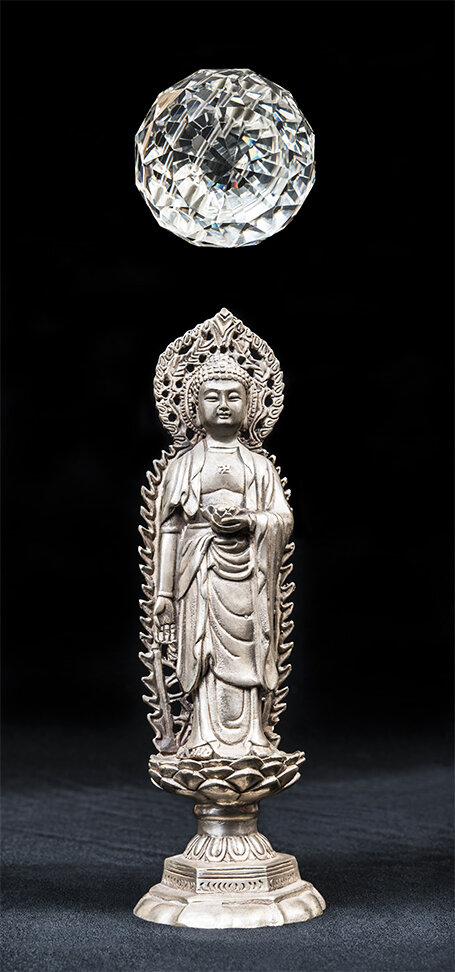 Touching The Earth    Buddha 3  2018 120cm x 56cm