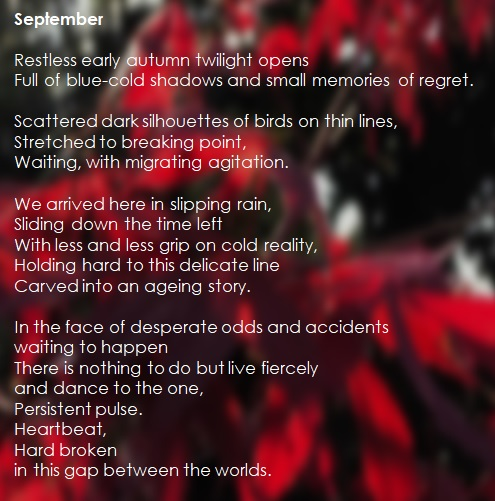 September, by Simon Chinnery