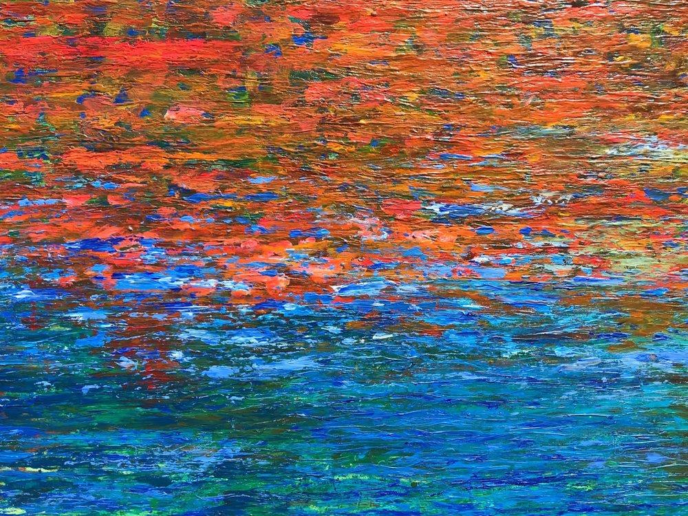 Flow - Acrylic60'' x 36''£975