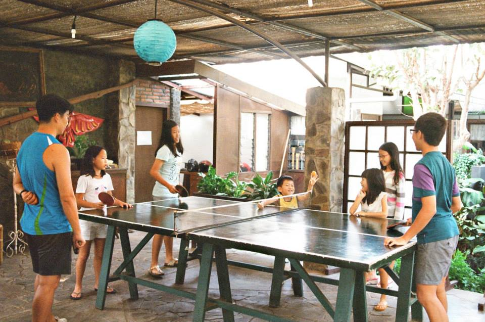 We enjoyed the chalet-type of atmosphere at the cottage in Batu, Indonesia.