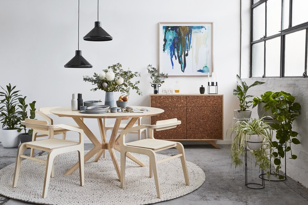Maitland Street Interiors, Sarah Elshaug, Interior Stylist Melbourne, Felix Furniture Dining Room