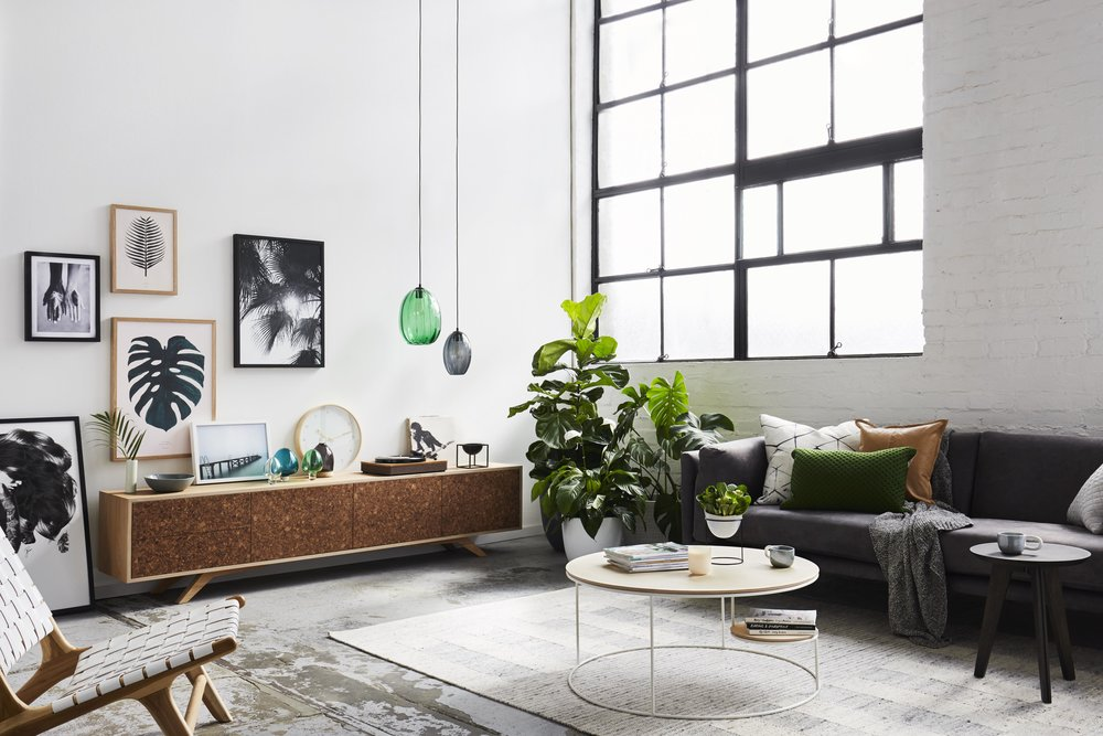 Maitland Street Interiors, Sarah Elshaug, Interior Stylist Melbourne, Felix Furniture Kork TV Unit