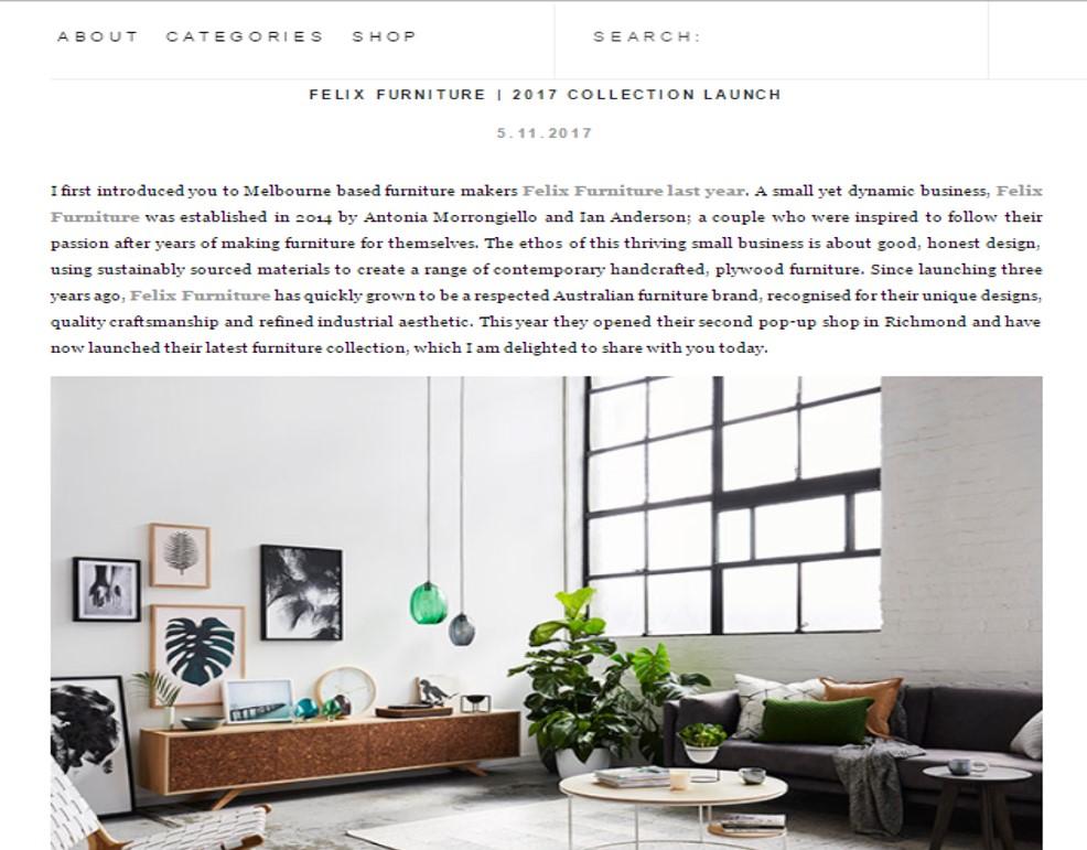 Maitland Street Interiors, Sarah Elshaug, Felix Furniture, XO Studios, The Design Chaser, Scandi Living Room, Loft Living, Interior Stylist Melbourne