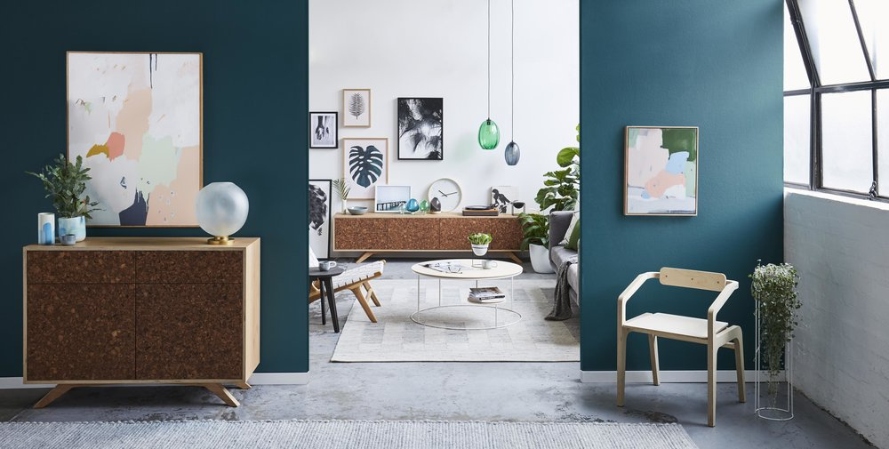 A beautifully curated selection of wares from Melbourne makers feature in the interior lifestyle campaign for Felix Furniture. Interior Stylist: Sarah Elshaug,Maitland Street Interiors Photographer:Stephanie Rooney.