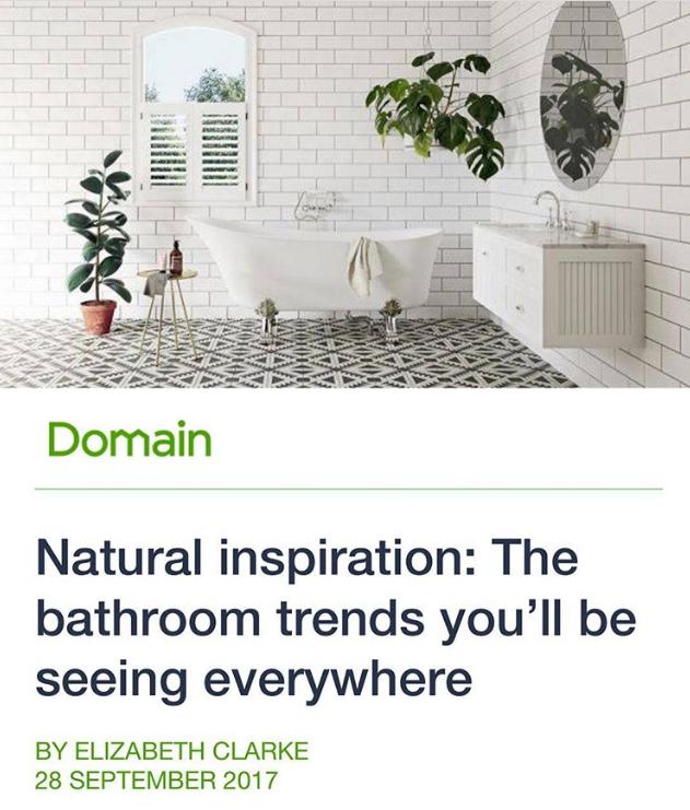 Maitland Street Interiors, Sarah Elshaug, The Domain, Elizabeth Clarke, Bathroom Trends, Interior Stylist Melbourne