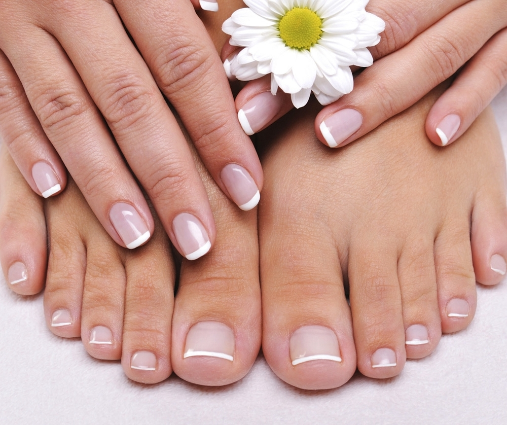 NAILS   You already know that a mani-pedi makes your nails look fantastic. What you may not know is that a professional nail treatment actually has long-term health benefits as well!