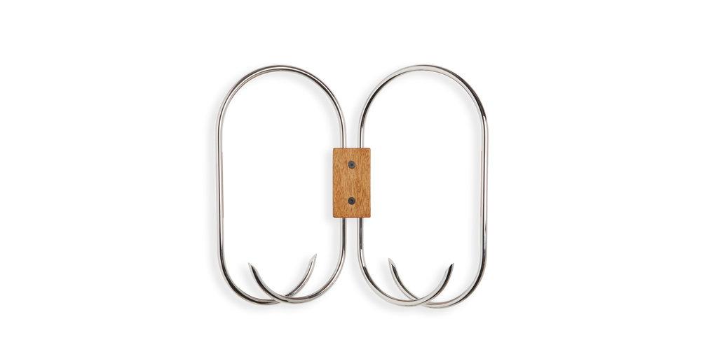 Nickel-plated Brass / Movingui