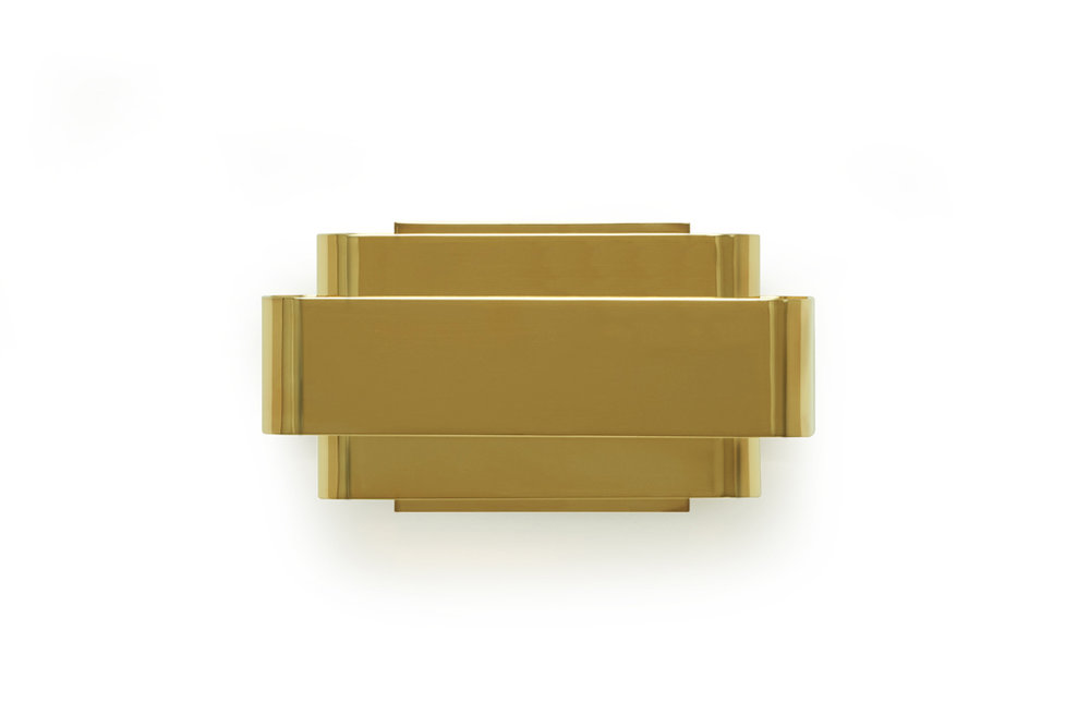 Gold-plated Brass