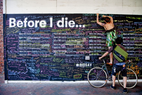 Before I Die… in Savannah, GA