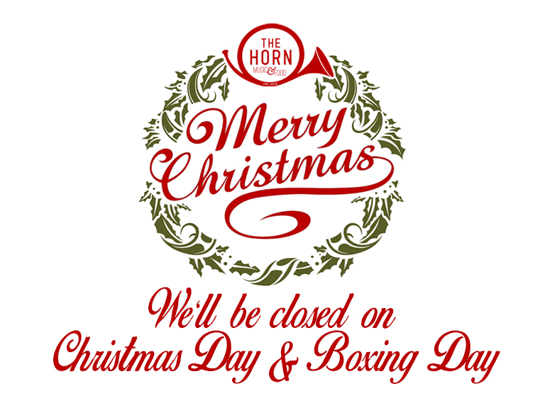 Mon 25 Dec - CHRISTMAS DAY & BOXING DAY