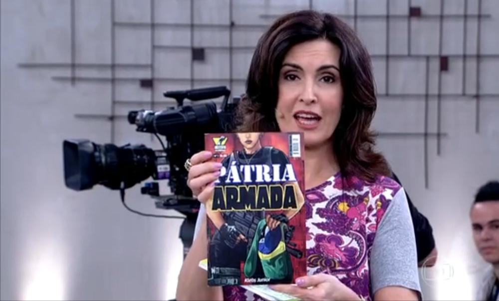 Pátria Armada na Fátima Bernardes (Globo) - 2014
