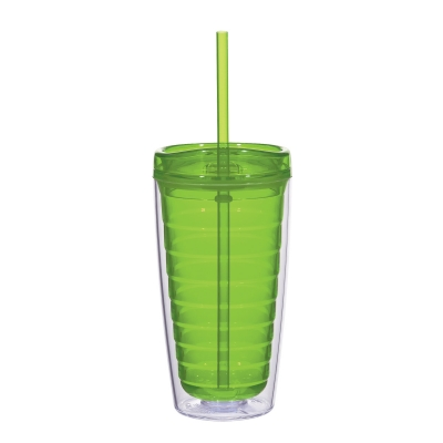 16 OZ.  Econo Double Wall Tumbler with Lid
