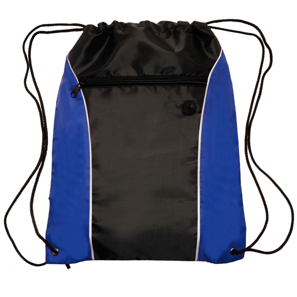 Color Side Drawstring Backpack