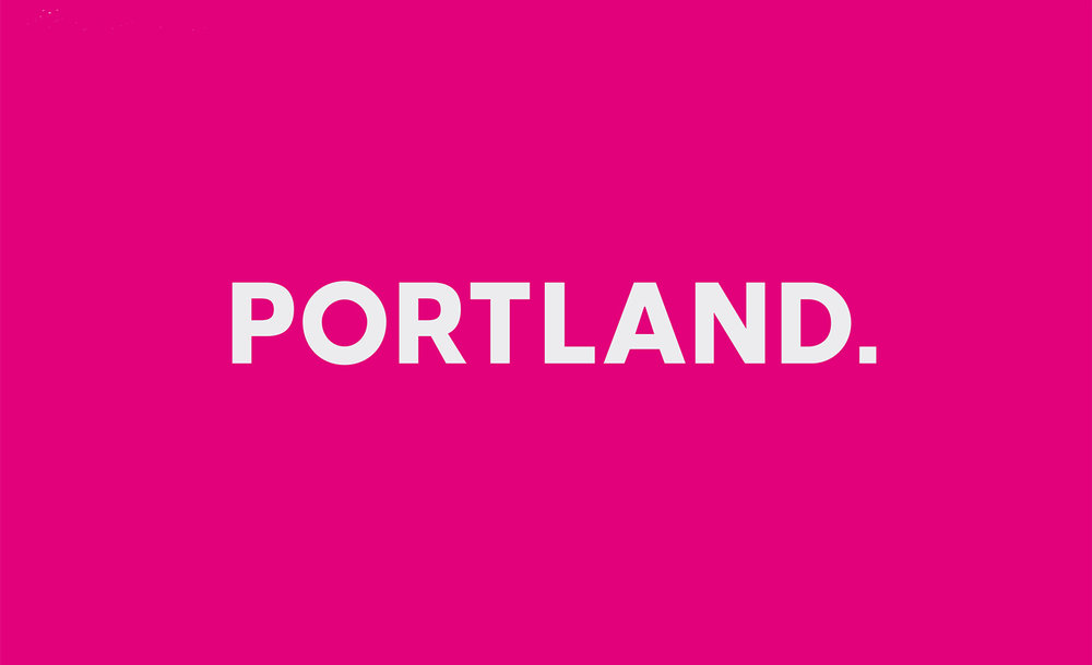 Portland Brand strategy / identity / Guidelines