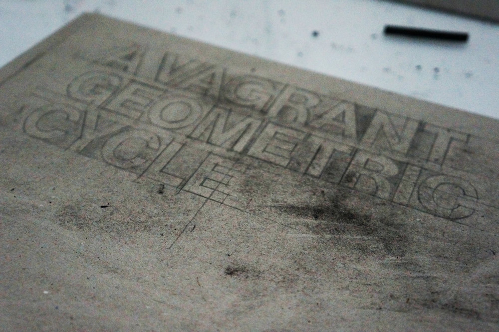Vagrant Geometry Drawing / Film / Documentation