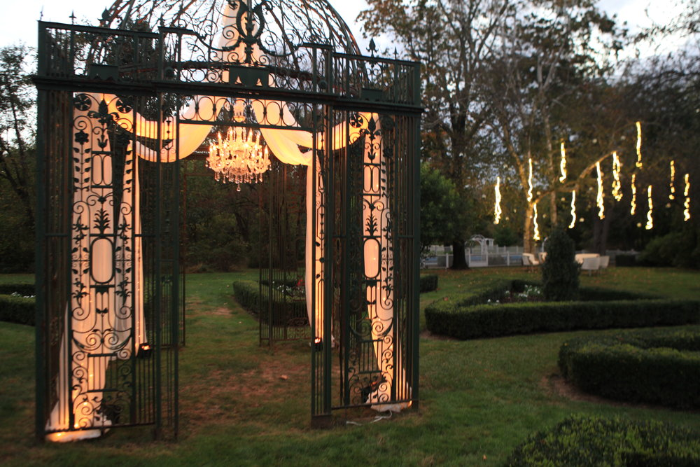 Copy of Gazebo with Chandelier