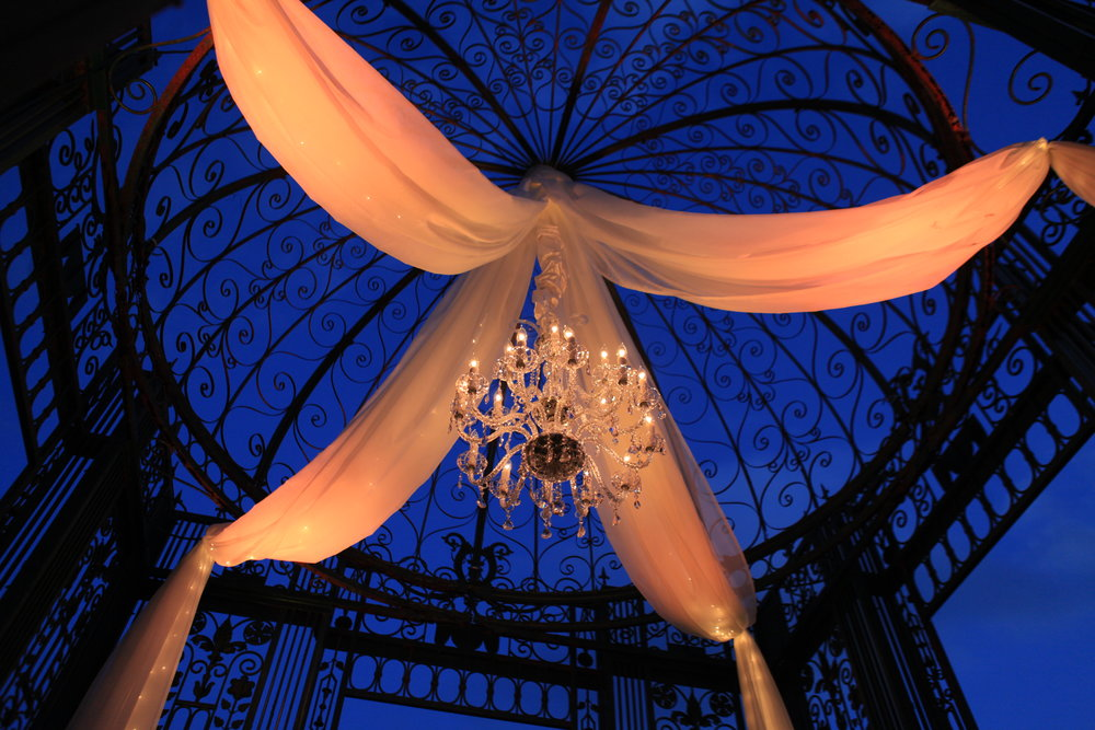 Copy of Chandelier in Gazebo