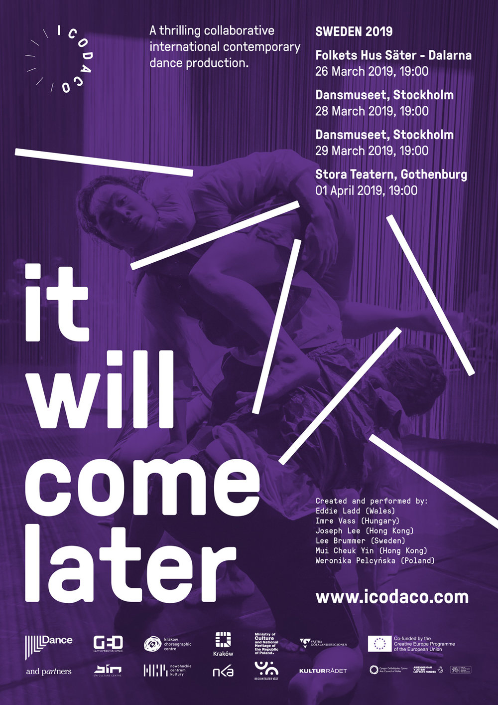 it will come later poster Sweden 2019