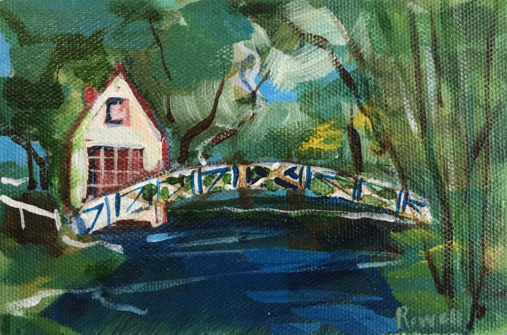 Crossing Over // 4x6 // $35