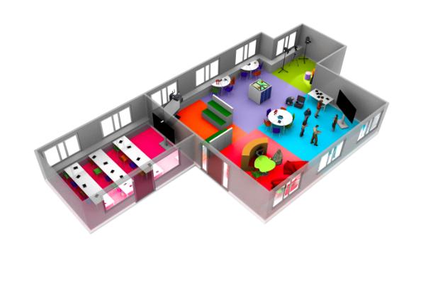 Das Klassenzimmer der Zukunft,Quelle: Future Classroom Lab